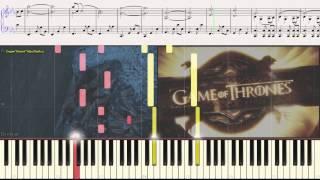 Game of Thrones (introduction) �гра Престолов (заставка) (piano cover)