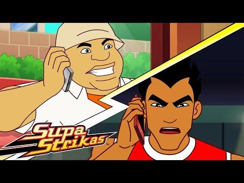 Temporada 6 Capítulo 9    Hinchas como estos   Super Strikas   Súper Fútbol Dibujos Animados