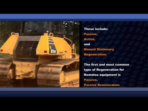 Komatsu Tier 4 Operator Guidance Video