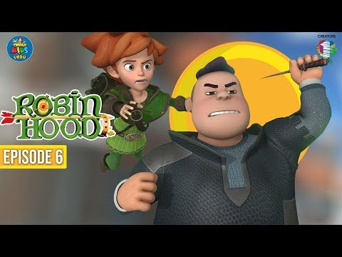 Robin Hood اُردو کارٹون | Episode 6 | The Treasure Hunt | Power Kids Urdu