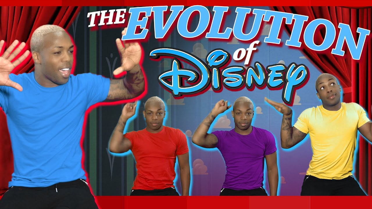 Evolution of Disney by Todrick Hall