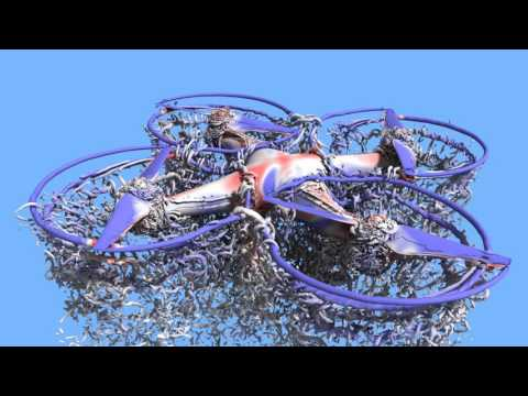 NASA Technology Simulates the Aerodynamics of a Quadcopter