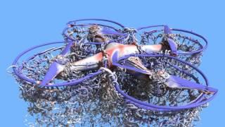 Vidéo : Voici comment se comporte l'air face aux pales d'un drone
