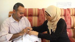 بعد 17 عاما من الانتظار محمود وايمان الحويطي ابوان لحمزة