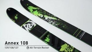 K2 Annex 108 Skis 2014