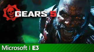 Gears of War 5 Escape Mode & Terminator Full Presentation | Microsoft Xbox E3 2019