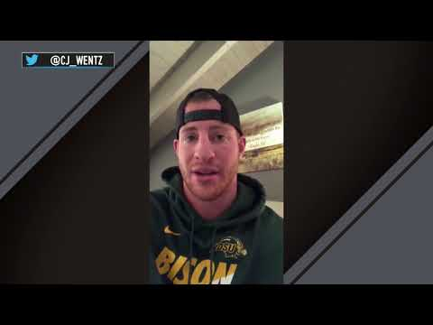 Carson Wentz Posts Video After Suffering a Torn ACL | Stadium