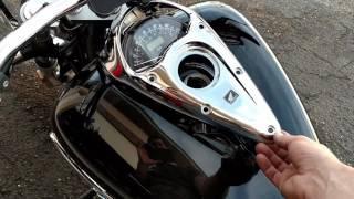 8. 2006 Honda VTX1300C Gauge Cluster Rattle