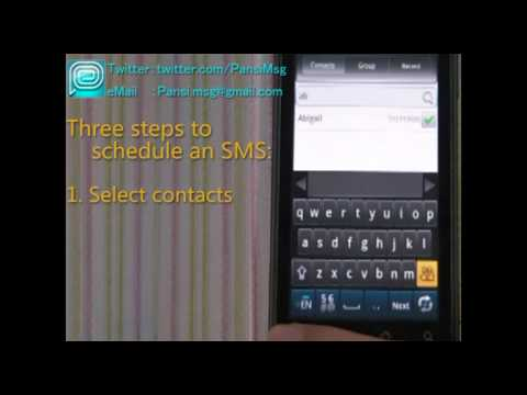 Video of Easy SMS German language