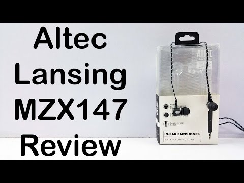 Altec Lansing MZX147 In-Ear Earphones Review - Nothing Wired