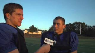 Student Interviews At The Glastonbury Football Field