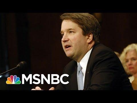 Anonymous Nature Of Brett Kavanaugh Letter Complicates Vetting | Rachel Maddow | MSNBC
