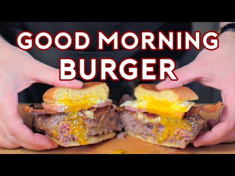 Binging with Babish: Good Morning Burger from The Simpsons