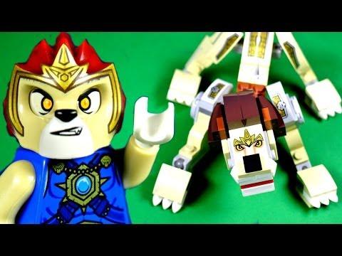 Vidéo LEGO Chima 70123 : Le lion légendaire