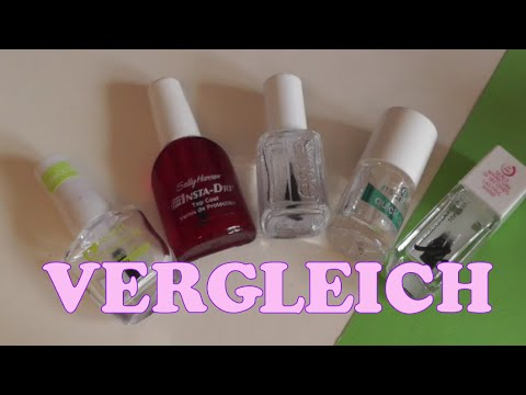Schnelltrocknende ÜBERLACKE | essie good to go, essence quick dry, Manhattan...