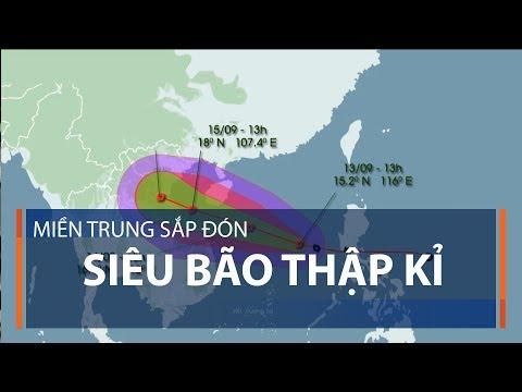 Miền Trung sắp đón siêu bão thập kỉ | VTC1 - Thời lượng: 2 phút, 48 giây.