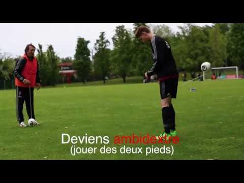Recommandé par les joueurs de football professionnels