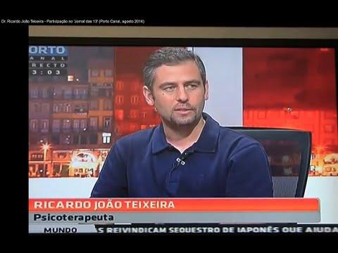 Dr. Ricardo João Teixeira - Participação no 'Jornal das 13' (Porto Canal, agosto 2014)