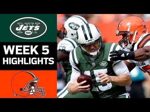 Video: Jets vs. Browns | NFL Week 5 Game Highlights