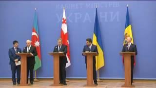 Состоялась встреча президента украины с главами правительств стран-членов гуам