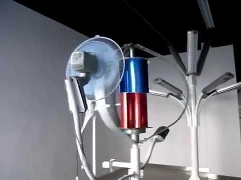 Ветрогенератор вертикальный MAGLEV