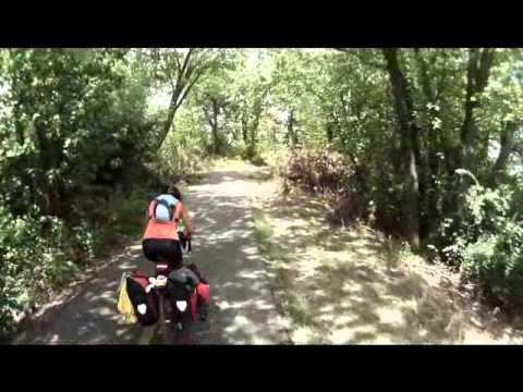 Cycling Mount Vernon Trail, Alexandria, VA