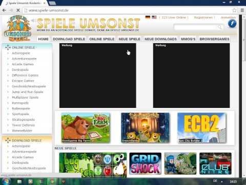 Kostenlose Online- und Downloadspiele