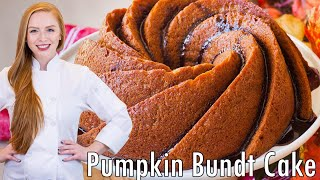 Pumpkin Maple Bundt Cake + Giveaway Details (open) by Tatyana's Everyday Food