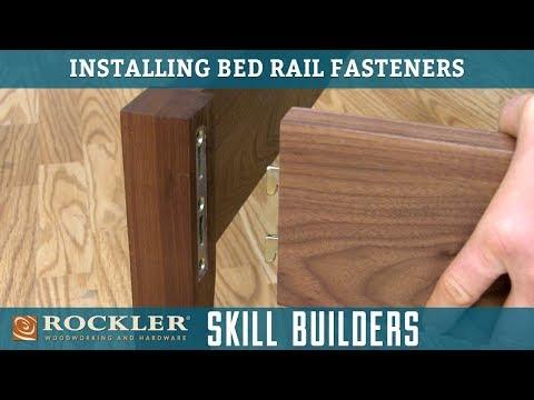 Installing Bed Rail Fastener Brackets