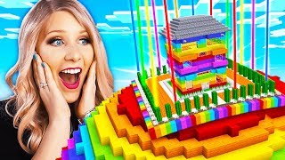 Video Never Break In To My Wife's Impossible Minecraft Rainbow House! MP3, 3GP, MP4, WEBM, AVI, FLV Juni 2019