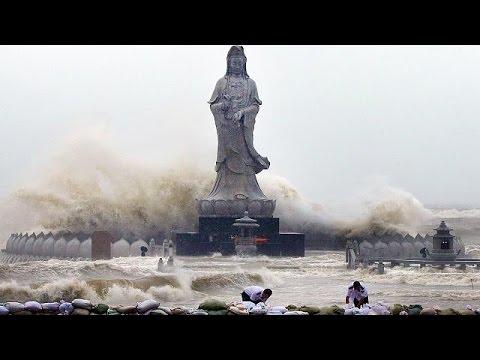 Σαρώνει την Κίνα ο τυφώνας Μουτζιγκάε