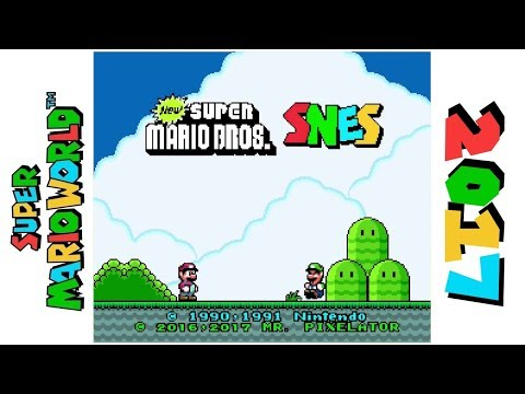 New Super Mario Bros. SNES • Hack Of Super Mario World