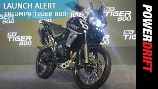 8. 2018 Triumph Tiger 800 : All variants in India explained : PowerDrift