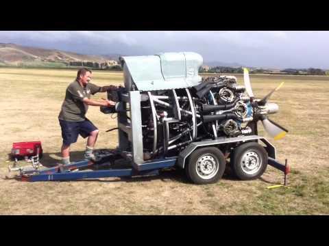 Bristol Hercules Sleeve Valve Radial Aircraft Engine