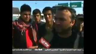 500000 زائر ايراني يقتحمون منفذ زرباطية الحدودي ويدخلون العراق دون تأشيرة دخول