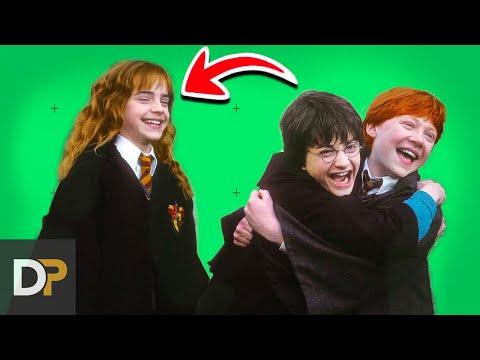 15 Bloopers Y Momentos Más Lindos De Harry Potter En El Set