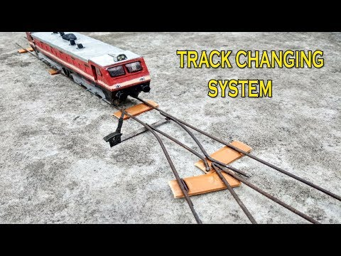 How To Make Train Track | Train Track Changer | Indian Railways Model