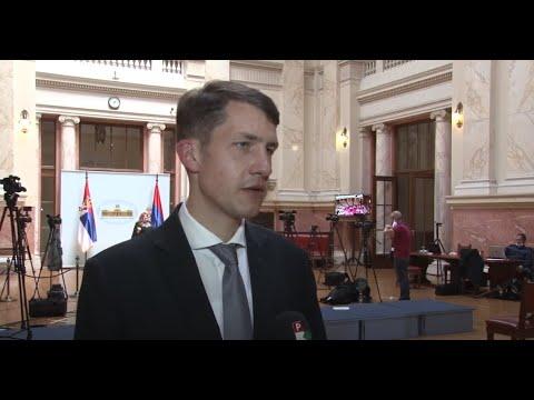 Másfél hónapos kihagyás után ismét összeült a szerb parlament-cover
