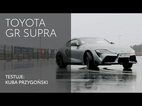 Toyota GR Supra. Testuje: Kuba Przygoński