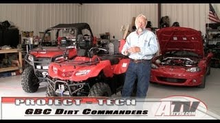 8. ATV Television - GBC DirtCommanders Tires on King Quad 400