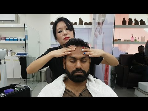 Asmr Indian female to male head massage Episode 2( Studio 11) (видео)