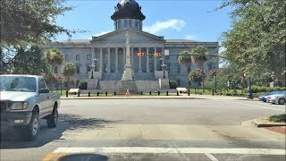 Sumter (SC) United States  City new picture : Driving Downtown - Columbia South Carolina USA