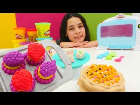 Unboxing video. Play Doh kolay mutfak seti!