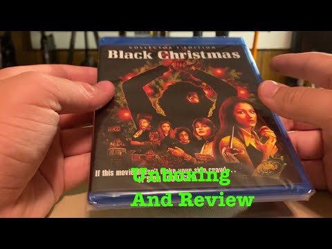 Black Christmas (1974) Collector's Edition Blu-Ray Unboxing And Review!