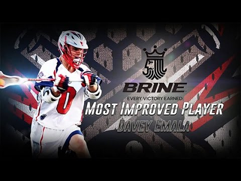 Brine MLL Most Improved Player: Davey Emala