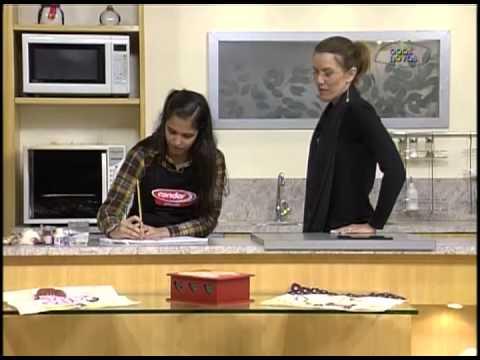 Artesanato - Pano de prato de Joaninha