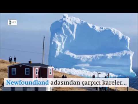 Kanada'da buzdağı turizmi...