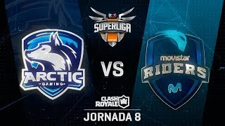 SUPERLIGA ORANGE - ARCTIC INNJOO VS MOVISTAR RIDERS - Jornada 8 - #SuperligaOrangeCR8