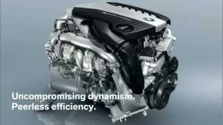 BMW M550d XDrive Triple Turbo Engine Animation 2012 HD