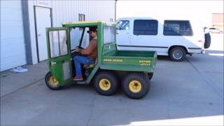 10. 1997 John Deere Gator utility vehicle for sale | sold at auction January 6, 2015